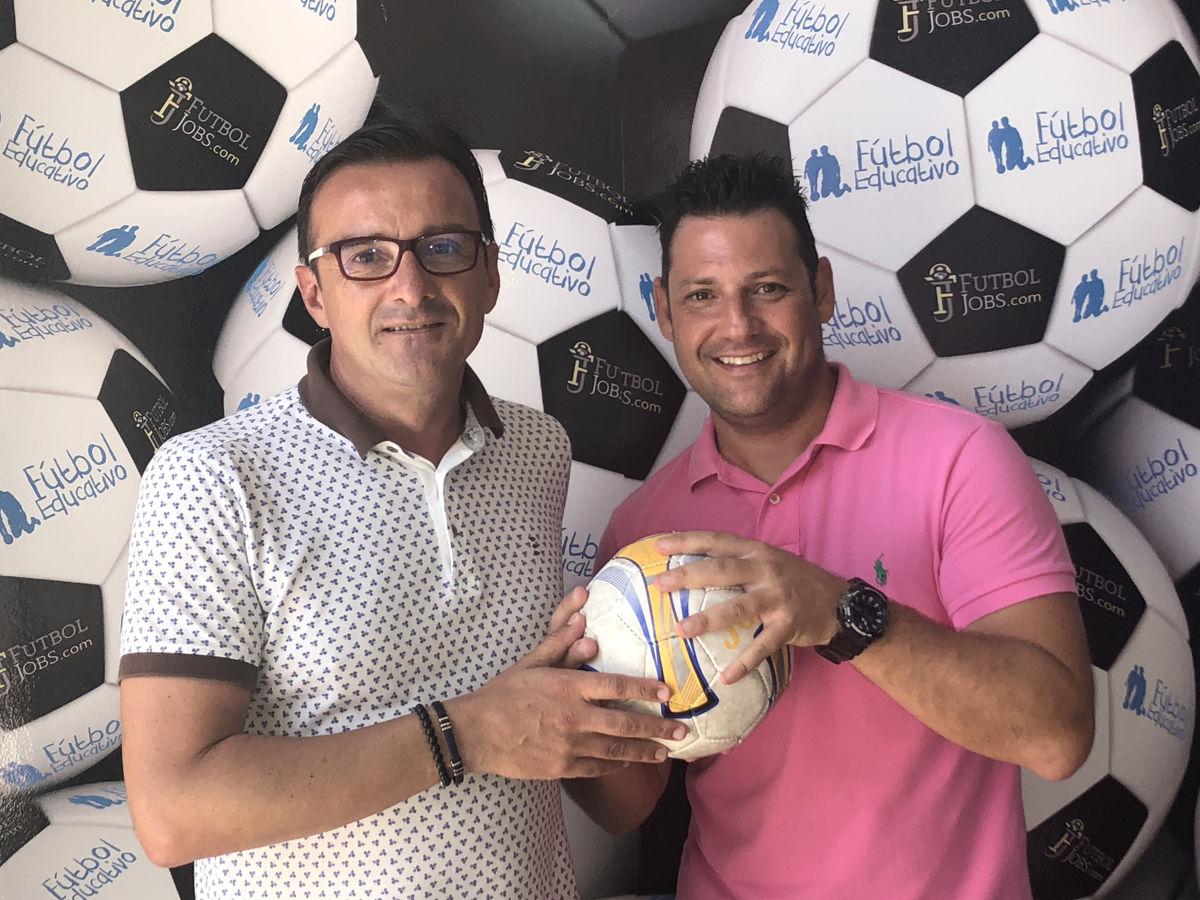 Valentín Botella y Pedro Meseguer. FutbolJobs