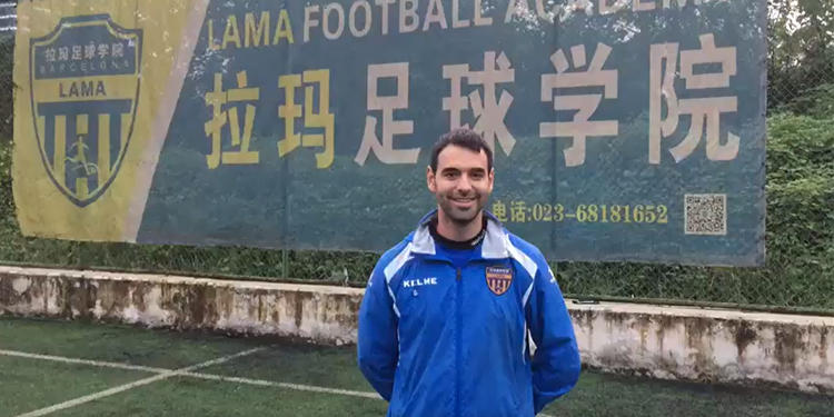 David Valbuena, entrenador en China